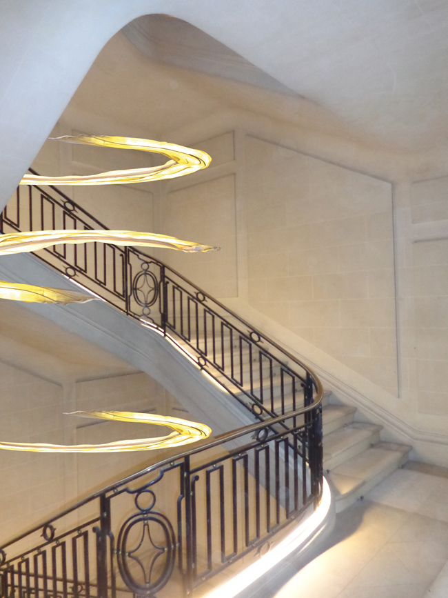 Helmut Frerick Creation Luminaires Pour Les Escaliers
